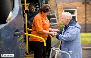 How ten new minibuses every week are being provided for UK care home residents
