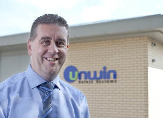 Chris Hellier is Unwin's new Managing Director